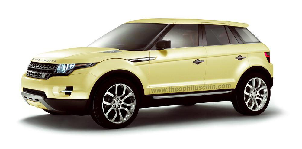 land rover le range rover compact un nouveau suv compact en 4x2. Black Bedroom Furniture Sets. Home Design Ideas