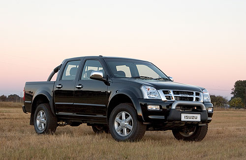 pick up isuzu d max relanc en alg rie. Black Bedroom Furniture Sets. Home Design Ideas