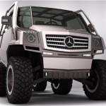 Mercedes Hexawheel Concept: Le nouveau Unimog