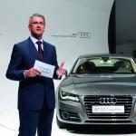 Audi A7 Sportback: le voile est tombé officiellement hier soir
