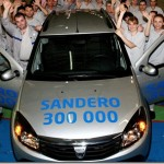 Dacia Sandero: 300 000 unités Sandero !