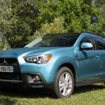Essai de la Mitsubishi ASX 1.8 DI-D : Un SUV obéissant