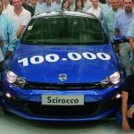 Volkswagen Scirocco: La production de la 100 000e Scirocco au Portugal