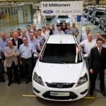 Ford Motors Company: Célébration du 12 millionième véhicule chez Ford
