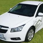 Chevrolet Cruze: Des essais routiers débutent en Corée du Sud