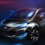 Hyundai Ix 20: une image exclusive publiée par Hyundai
