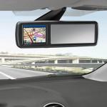 Ford: Un rétroviseur GPS,  pour les anglais d'abords !