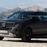 Mercedes Benz ML63 AMG: Les deux modèles à l'étoile perdent les plastiques lourds