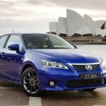 Salon de Sydney: Lexus CT 200h F-Sport
