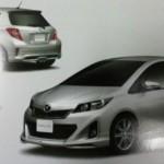 Toyota Yaris: Un aspect filtré pour la belle !