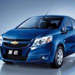Chevrolet Algérie: La Chevrolet Sail dévoilée