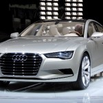 Salon automobile Alger 2011: l'Audi A7 Sportback est présente