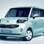 Kia Ray: La 1ère voiture électrique coréenne