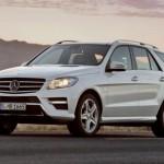 Algérie: La Mercedes classe M par GMS au salon d'Alger 2012