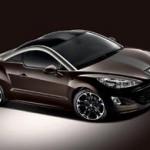 Peugeot coupé RCZ: Une série limité en Allemagne baptisée RCZ Brownstone
