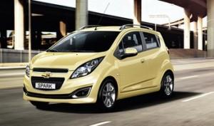 Chevrolet Spark Reliftée au salon mondial 2012