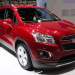 Salon d'Alger Autoexpo 2013 : Le Trax de Chevrolet