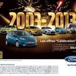Elsecom Motors/Ford 2013: des promotions à l'occasion de son 10 eme anniversaire