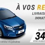 Chevrolet Algérie 2013: Les remises de fin d'année