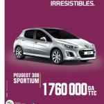 Peugeot Algérie: La 308 Sportium à 1 760 000DA