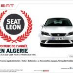 Trophée de la voiture de l'année 2014 est attribué à la Seat Leon