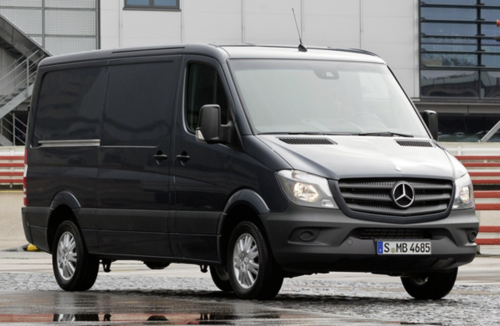 The new Mercedes-Benz Sprinter 2013