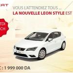 Seat Algérie: La nouvelle Leon Style est arrivée!