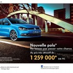 Volkswagen Algérie 2014 : Nouvelle Polo à 1 259 000 DA