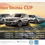 Volkswagen Algérie 2014: Les prix de la gamme CUP