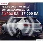 Seat Algérie : Promotion sur les Alarmes Autos