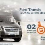 Ford Algérie : Remise et disponibilité immédiate du Transit