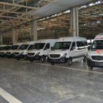 SAFAB MB Algérie: Livraison de 460 véhicules multifonctions