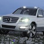 Mercedes GLK présente sa nouvelle gamme, un SUV comme il doit être