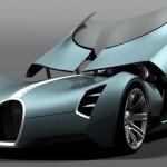 Bugatti Aérolithe Concept: Aérolithe prototype ré-imaginé pour 2025