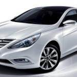 Salon de Moscou 2010: la berline Hyundai Sonata est présente