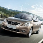 Algérie: Nissan Sunny pour le salon international de l'automobile d'Alger