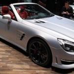 Mercedes SL 63 AMG au salon de Genève 2012