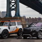 Salon New York 2012: Land Rover fête ses 25 ans