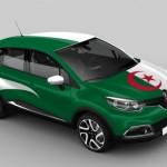 Renault Captur 'Battle of the Countries': les couleurs de l'Algérie l'ont remporté