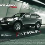 Cinq ans de garantie et une remise de 250 000 DA sur la Mitsubishi Pajero sport7