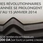 Citroën Algérie: Prolongation des Remises...Jusqu'au 15 Janvier 2014