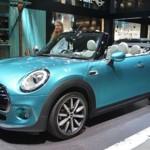 Mini Cooper au salon de Tokyo 2015: La Mini Cabrio fait parler d'elle